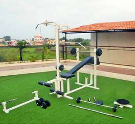 Home gym multi station gym equipment