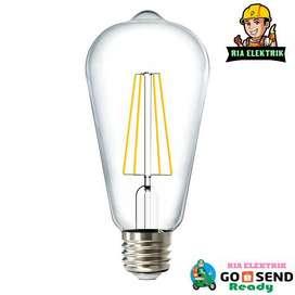 LAMPU LED FILAMEN 4 WATT EDISON ST64 / FILAMENT LED 4