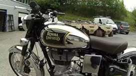 Classic chrome 500 cc  in good condition one hand drive