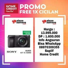 Sony A6400 Kit 16-50mm F/3.5-5.6 OSS Promo Free 1x Cicilan
