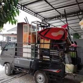 Jasa pindahan Sewa mobil losbak & truk engkel CDE mobil pick up