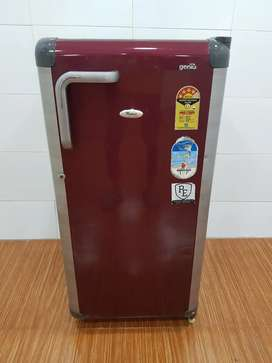 Id 087 used whirlpool 180 ltrs genius single door refrigerator