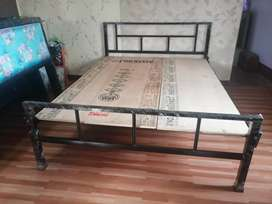New Queen Size 5x6.5 Feet Simple Bed Free Delivery