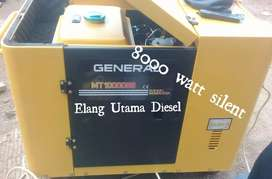 Genset Silent stater murni 8000 watt