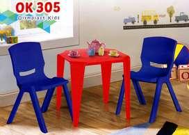 Kursi Plastik Anak Olymplast OK 305 Kids (36x38x54 Cm)