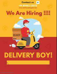 Delivery Boys Or Collection Boys  Required