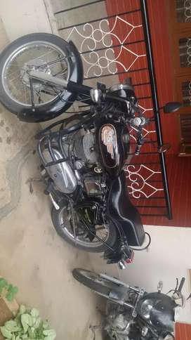 RE STD 350 cc with clear title . All running documents