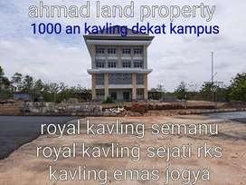 400 rb an dijual cepat tanah dekat kampus uny yogya di gunungkidul
