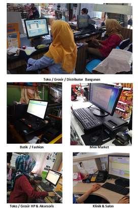 Komputer Software Aplikasi Program Kasir Semua Usaha