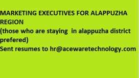 Marketing Executives for Alappuzha region