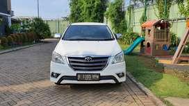 Dijual Innova G At 2.5 Diesel 2014 Seger Prima Km 85rb Tgn 1 dari baru