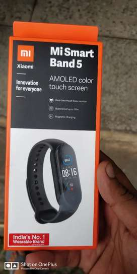 mi band 5 new ..hn 10 days old