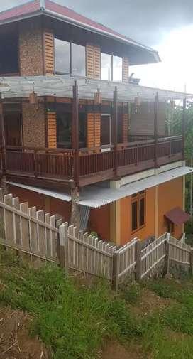Dijual murah rumah di Woloan Kota Tomohon, udara sejuk