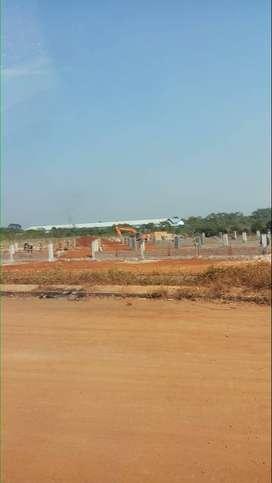 Tanah kavling LT 2800 Zona  industri 5 mnt dari toll kalijati Subang