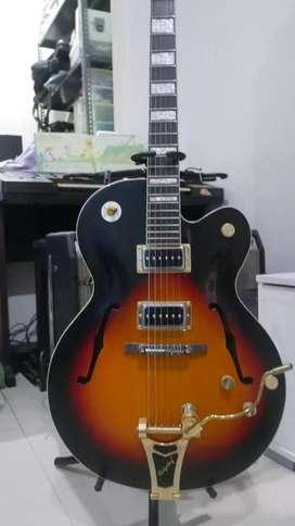 Gitar hollow bodi gretsch