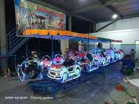 JUAL mainan anak odong mobil remot DZ