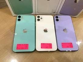 iPhone 11 64Gb Green, Purple, White DC COM MMTC BISA COD