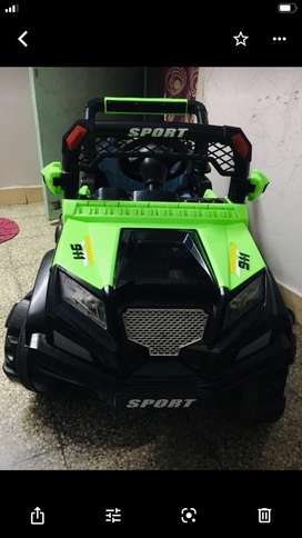 Big jeep for kid aged for 3-7 yrs