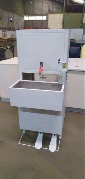Jual Wastafel Portable Pedal (WP01)/ Tempat Cuci Tangan Otomatis Murah