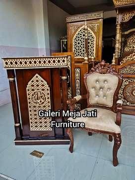 Mimbar masjid podium D848 khotbah