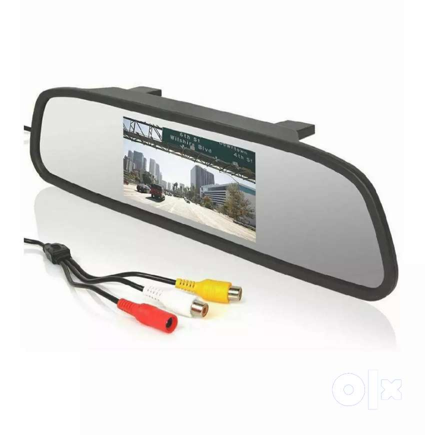 TFT LCD colour monitor(mirror screen) 4.3 inch 0