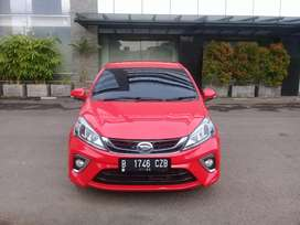 All New Daihatsu Sirion D Sport AT Merah Genap 2018 (TDP Terendah)