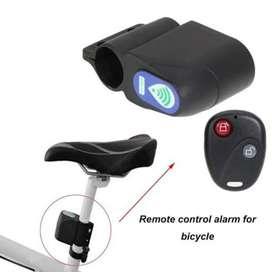 Alarm sepeda remote control