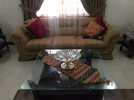 Five seater Sofa , Center and Side tables