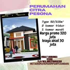 Rumah cluster harga promo