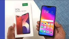 Sealed pack Oppo A3s (2/16) available
