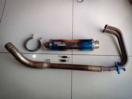 Knalpot R9 Mugello Full System Nnja 250
