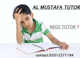 Qualified Home Tutors Male & Female available For Guarenteed Result