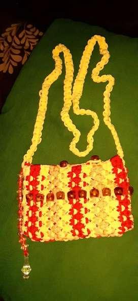 Macrame sling bag