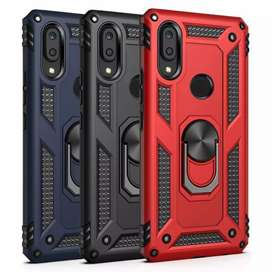 Hybrid Shockproof Protective Ring Mobile Cases