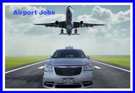 Airport ground staff job
