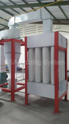 Dust Collector Mono Cyclone untuk Powder Coating