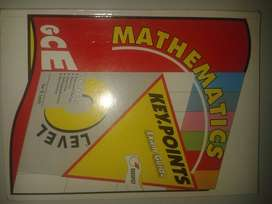 GCE O Level Mathematics Key Points (Latest Redspot)