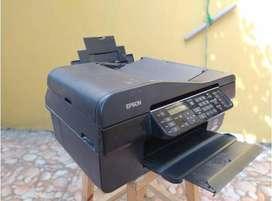 Printer Epson Scanner, Copy, Print Color, Office TX 510 FN