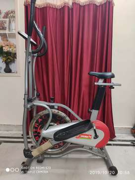 Cycle and Cross trainer