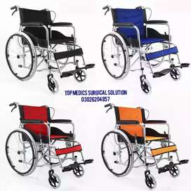 wheelchair Steel frame Hand brake Wheelchair for patients