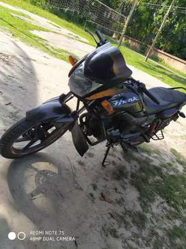 Hunk bike is very good condition