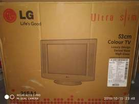Lg tv+free dis box+ 5in1 home theater system