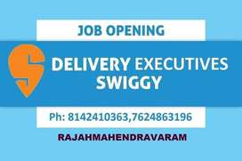 SWIGGY FOOD DELIVERY EXECUTIVE