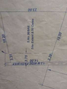 7.27 cents land for sale
