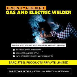 Urgently required welders
