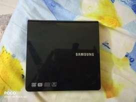Samsung External DVD writer with AV connectivity support.