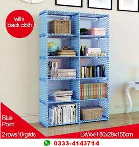 Shelf rack for storage of multiple products