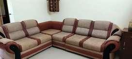 Jute sofa set