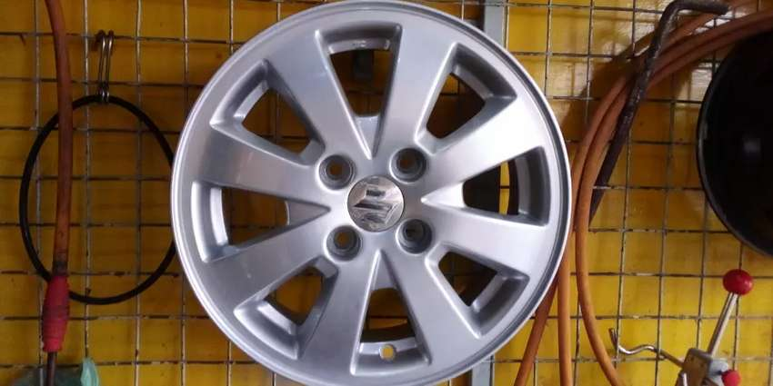"Japanese Alloy Rim for Mira,Vitz,Move,Cultus,Picanto,WagonR Size 14""."