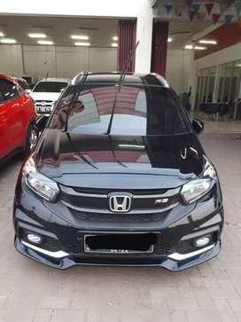 "Honda Mobilio RS  ""KM LOW"" Manual ""2017"" Hitam"